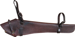 Rifle Scabbard with Basket Weave